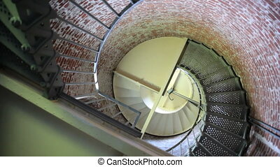 Cape Blanco Lighthouse Stairwell