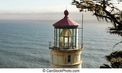 Heceta Head Lighthouse - Along the Oregon Coast stands the...