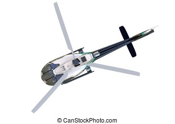 3d detailed helicopter
