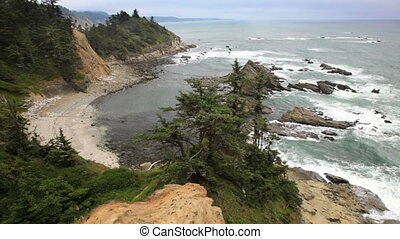 Cape Arago State Park - Oregon coast, Cape Arago, includes...