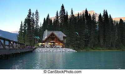 Restaurant at Emerald Lake - In Yoho National Park, a...