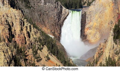 Lower Yellowstone Waterfall 4 - Grand Canyon of the...