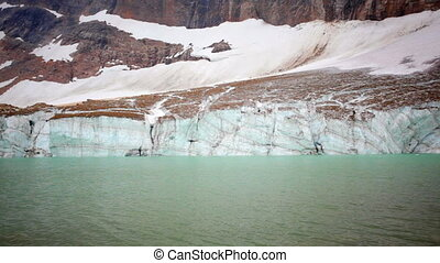 Melting Angel Glacier - Glacial melt from Angel Glacier