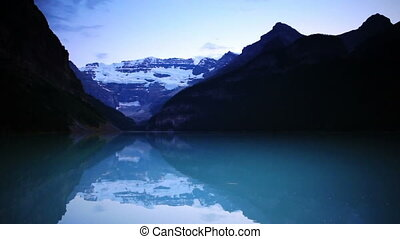 Lake Louise Sunset - Banff National Park, Canada, Lake...