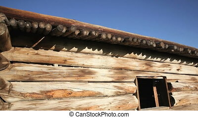 Old Pioneer Log Cabin