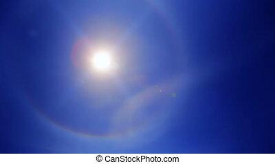 The Sun - Sun crossing the Sky