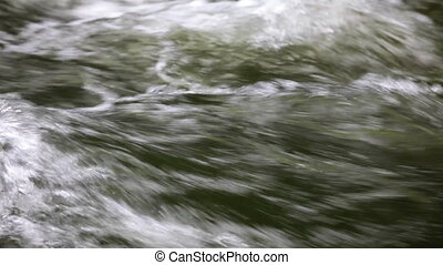 Rushing Water - Water flowing, Silver Falls State Park,...