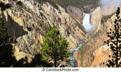 Lower Yellowstone Waterfall 3