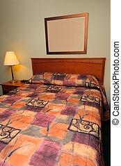Generic hotel bedroom