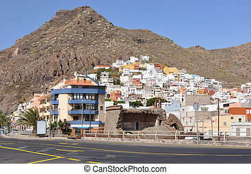 San Andres town of Tenerife island, Canaries