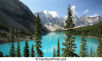 Moraine Lake - Banff National Park, Canada, Moraine Lake,...
