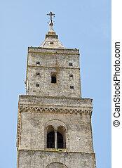 Belltower Cathedral. Matera. Basilicata.