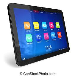 tablette, PC