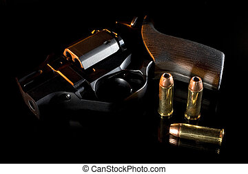 Evening handgun - Self defense handgun as the light fades on...