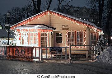 Santa\'s house