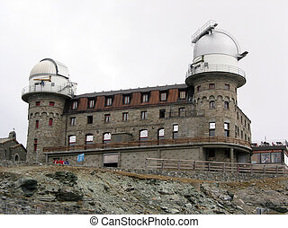 Observatory in Gornergrat, Swiss Alps