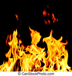 Piekło, ogień