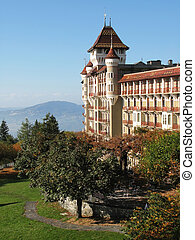 Palace in Caux, Switzerland