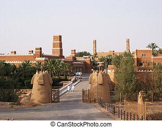 Diriyah, Saudí, Arabia