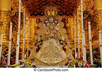 Blessed Virgin Mary - The Blessed El Rocio - Andalusia,...