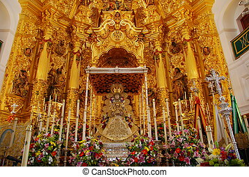 Blessed Virgin Mary - The Blessed El Rocio - Spain