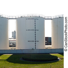 fuel tanks used for storage of gasoline