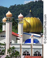 Mosque in Kuah town, Langkawi, Malaysia