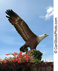Eagle square in Kuah town, Langkawi.