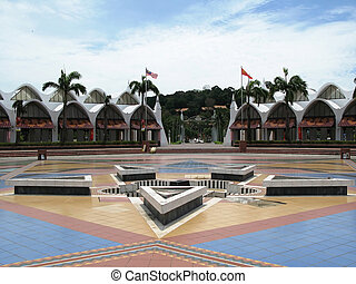 Central square of Kuah town, Langkawi