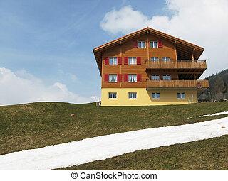 Spring in Engelberg, Switzerland