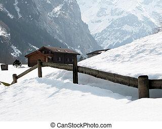 Rural house in Engelberg, famous Swiss skiing resort
