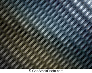 Carbon fiber with studio light. Useful as texture or...