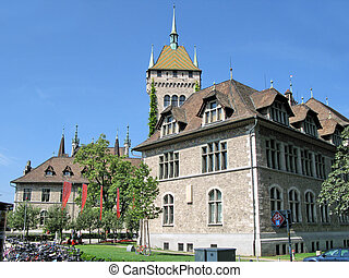 National Swiss historical museum in Zurich