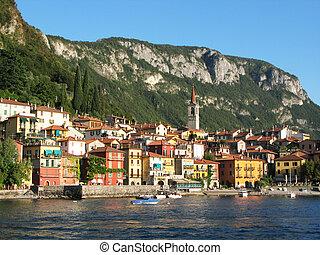 Varenna town. Lake Como, Italy