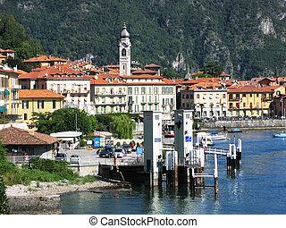 Menaggio town, Italy