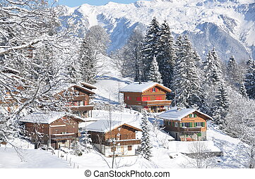 Swiss cottages