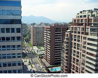 View of Santiago de Chile