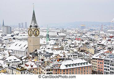 Winter in Zurich