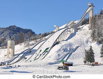 Ski flying facilities