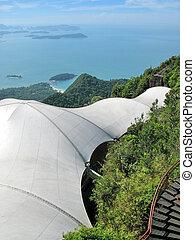 Breathtaking view of Langkawi island