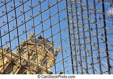 PARIS - APRIL 4: Louvre Museum, Easter holiday, April 4,...