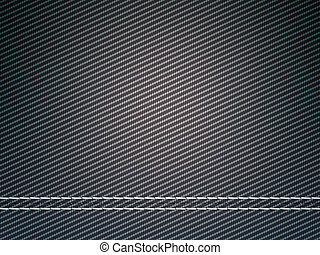 Stitched carbon fiber: Useful as texture or background