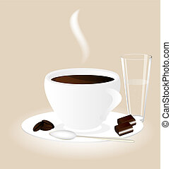 cup chocolate