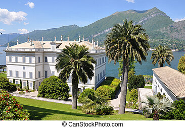 Villa Melzi in Bellagio town at the famous Italian lake Como