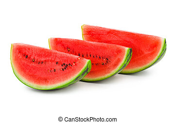 Watermelon - isolated on a white background