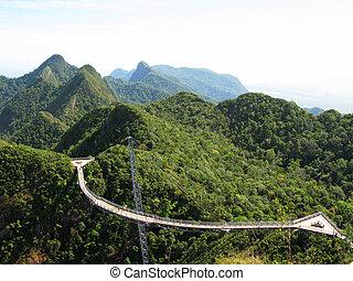 Langkawi hanging bridge