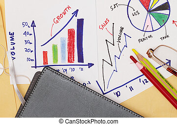 Business strategy abstract