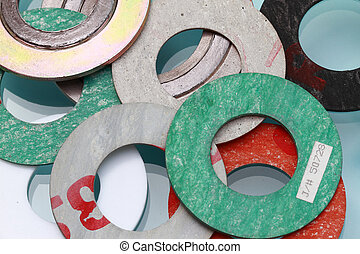 Gasket - assorted Gasket - many uses in the oil and gas...