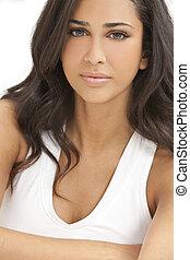 Beautiful Girl Young Hispanic Woman