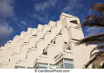 Modern residential buildings in southern Spain
